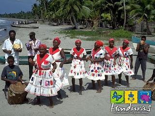 Garifuna dancing