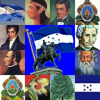 Honduran heroes and national symbols